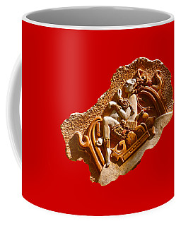 Coffee Mug featuring the digital art Myan Wall Art D by Francesca Mackenney