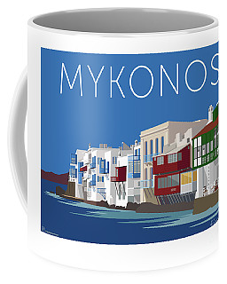 Mykonos Little Venice - Blue Coffee Mug