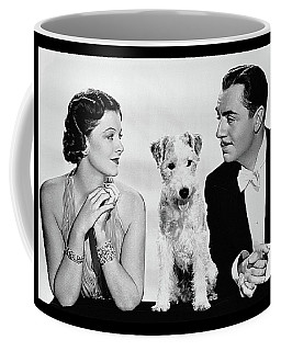 Myrna Loy Asta William Powell Publicity Photo The Thin Man 1936 Coffee Mug