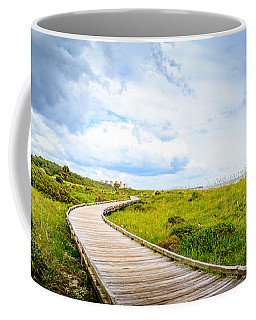 Myrtle Beach State Park Boardwalk Coffee Mug