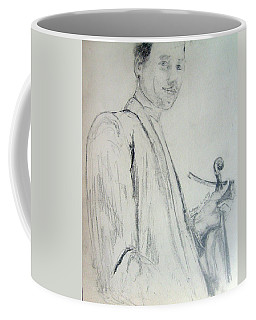 Myself With A Violin Coffee Mug