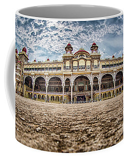 Coffee Mug featuring the photograph Mysore Palace by Chris Cousins