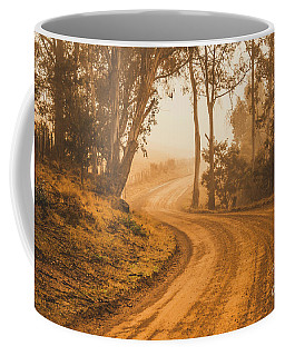 Mysterious Autumn Trail Coffee Mug