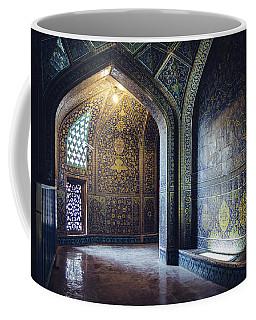 Mysterious Corridor In Persian Mosque Coffee Mug