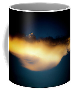 Coffee Mug featuring the photograph Mysterious Glow by Eric Christopher Jackson
