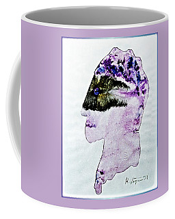Mysterious  Stranger Coffee Mug by Hartmut Jager