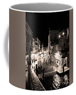 Mysterious Venice Monochrom Coffee Mug