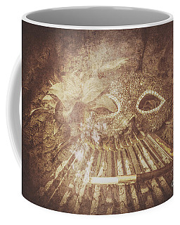 Coffee Mug featuring the photograph Mysterious Vintage Masquerade by Jorgo Photography - Wall Art Gallery