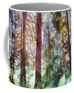 Mysterious Wood Coffee Mug