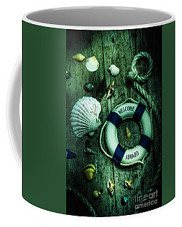 Mystery Aboard The Sunken Cruise Line Coffee Mug