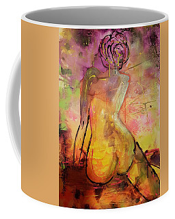 Mystery Lady Coffee Mug by Judi Goodwin