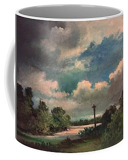 Mystery Of God  The Eye Of God Coffee Mug by Randy Burns