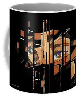 Mystery Woman1 Coffee Mug by Andrew Drozdowicz