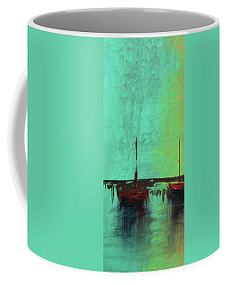Mystic Bay Triptych 1 Of 3 Coffee Mug