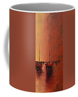 Mystic Bay Triptych 3 Of 3 Coffee Mug