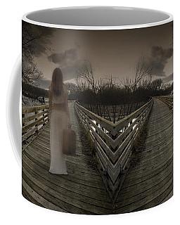 Mystic Bridge In A Dream World Coffee Mug