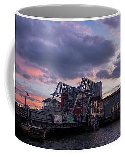 Mystic Bridge Sunset 2016 Coffee Mug
