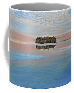 Coffee Mug featuring the painting Mystic Island by Kenneth M  Kirsch