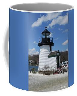 Mystic Lighthouse Coffee Mug by Gordon Mooneyhan