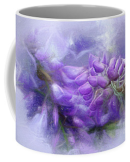 Coffee Mug featuring the photograph Mystical Wisteria By Kaye Menner by Kaye Menner