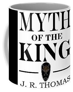 Coffee Mug featuring the digital art Myth Of The King Cover by Jayvon Thomas