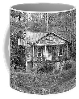 Coffee Mug featuring the photograph N C Ruins 1 by Mike McGlothlen