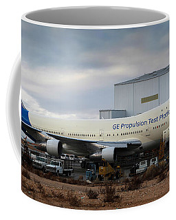N747ge, Be Propulsion Test Platform, Southern California Logisti Coffee Mug