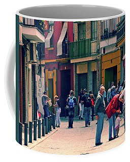Coffee Mug featuring the photograph Triana On A Sunday Afternoon 1 by Mary Machare