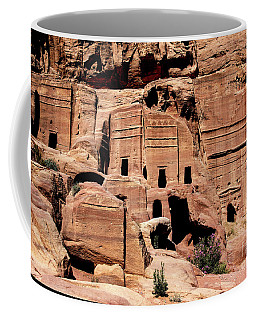 Coffee Mug featuring the photograph Nabataeans' City by Mae Wertz