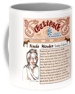 Real Fake News Society Column 2 Coffee Mug