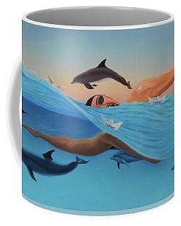 Nadando Contra Corriente Coffee Mug