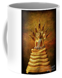 Coffee Mug featuring the photograph Naga Buddha by Adrian Evans