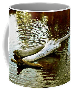 Nailbiting Driftwood Coffee Mug
