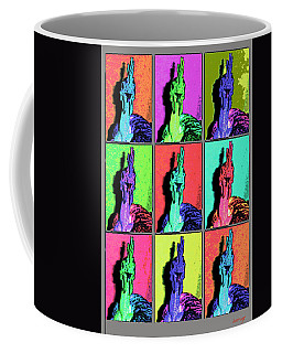 Naked Neck Rooster Warhol Style Coffee Mug