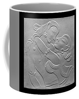 Nakhachitra-fingernail Relief Drawing Coffee Mug by Suhas Tavkar