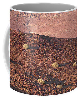 Coffee Mug featuring the photograph Namibian Landscape Sunset by Tom Wurl