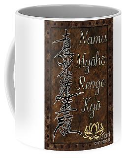 Namu Myoho Renge Kyo Coffee Mug