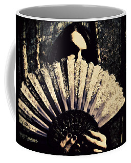 Coffee Mug featuring the digital art Nancy 2 by Mark Baranowski