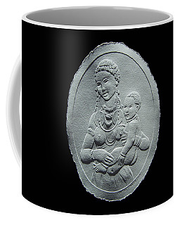 Nandi Tribe Woman And Child Coffee Mug by Suhas Tavkar