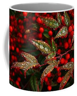 Nandinas In The Rain Coffee Mug