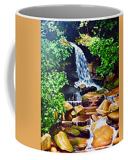 Nantahala Waterfall Coffee Mug