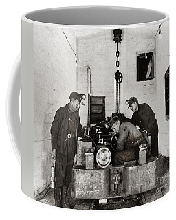 Nanticoke Pa Buttonwood Colliery Inman Shaft Glen Alden Coal Underground Motor Pit 1945 Coffee Mug