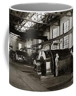 Nanticoke Pa Electrical Generators Glen Alden Mines Power Plant 1945 Coffee Mug