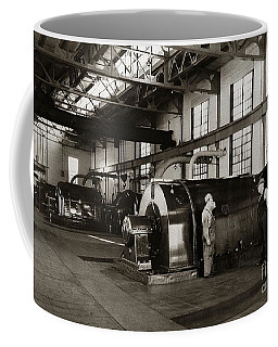 Nanticoke Pa Electrical Generators Glen Alden Mines Power Plant 1945 Coffee Mug