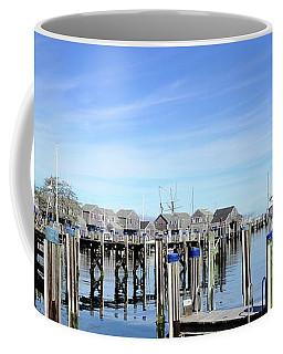 Nantucket Blue Coffee Mug