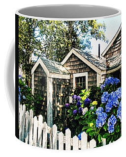 Nantucket Cottage No.1 Coffee Mug by Tammy Wetzel