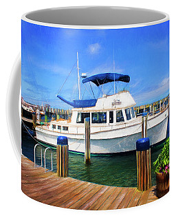 Nantucket Harbor Safe Harnor Series 52 Painted Coffee Mug
