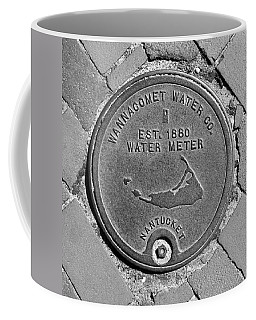 Nantucket Water Meter Cover Coffee Mug