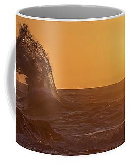 Napali Coast Kauai Hawaii Wave Explosion Iv Coffee Mug