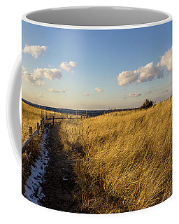 Coffee Mug featuring the photograph Napatree Dunes by Kirkodd Photography Of New England